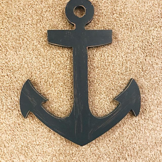 Find more Navy Blue Anchor Wall Decor for sale at up to 90% off