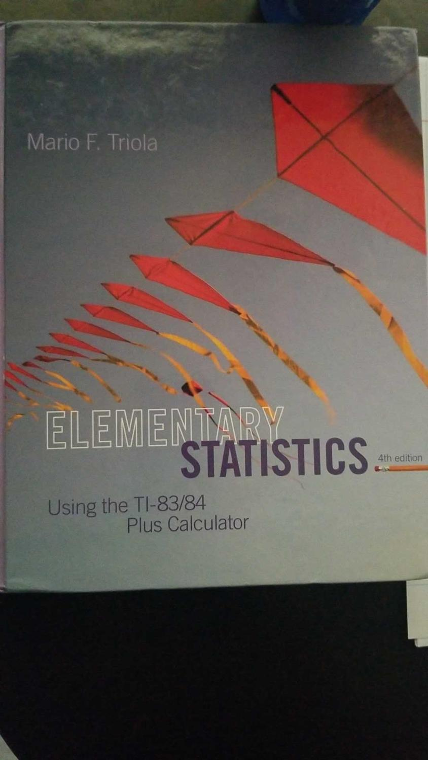 Stats textbook for Brazosport College
