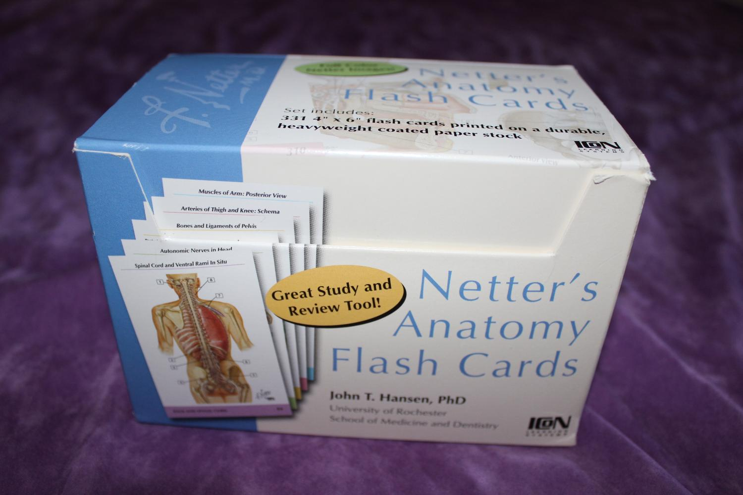 Best Netter\'s Anatomy Flash Cards for sale in Dekalb County ...