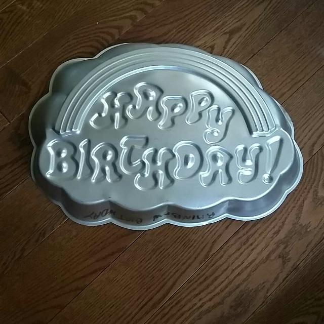 Best Hippie Rainbow Happy Birthday Cake Pan Mold For Sale In Vaudreuil Quebec 2019