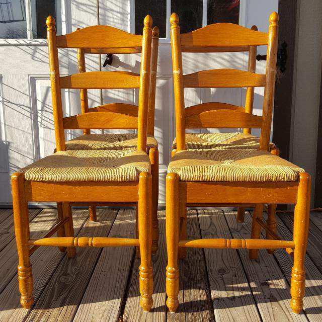 Best Original Seaweed Ladder Back Chairs For In Greenville Texas 2019