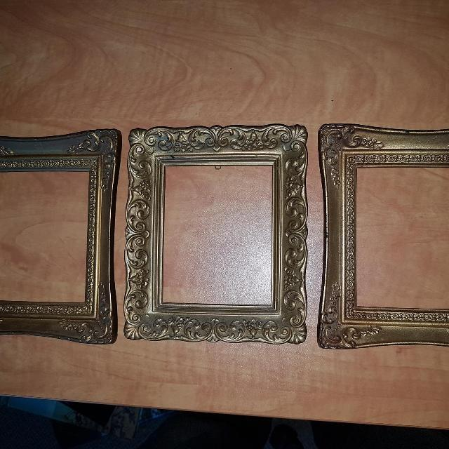 Find More 3 Small Vintage Ornate Plastic Frames For 4 By 5