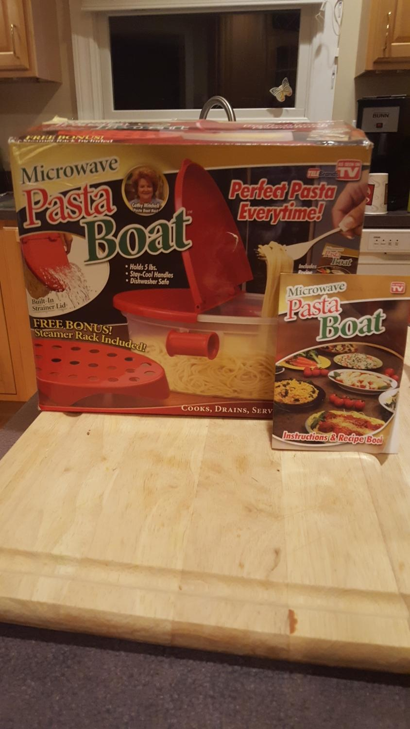 Find More Pasta Boat Perfect Pasta Every Time In Your Microwave For