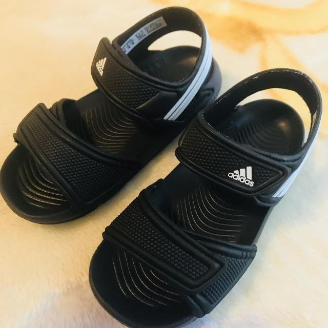 32a1bd96c801 Best New Adidas Velcro Sandals Size 8 Toddler! Smoke Pet Free Home ...