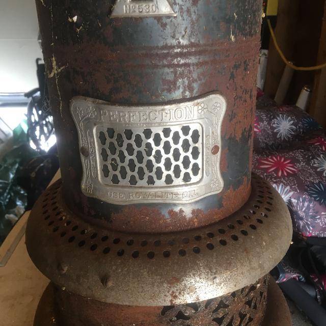 Antique Oil Heater For In Ajax