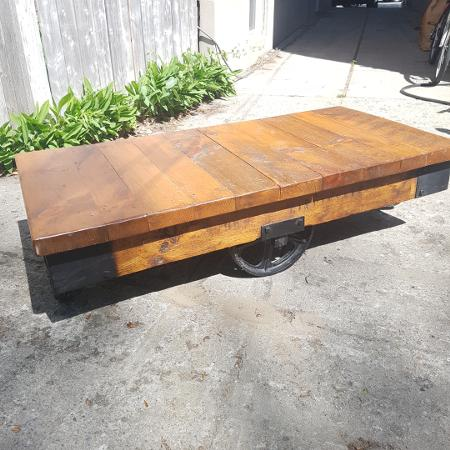 Industrial Restored Factory Cart... for sale  Canada