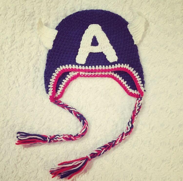 Best Captain America Crochet Hat Perfect For Your Little Superhero
