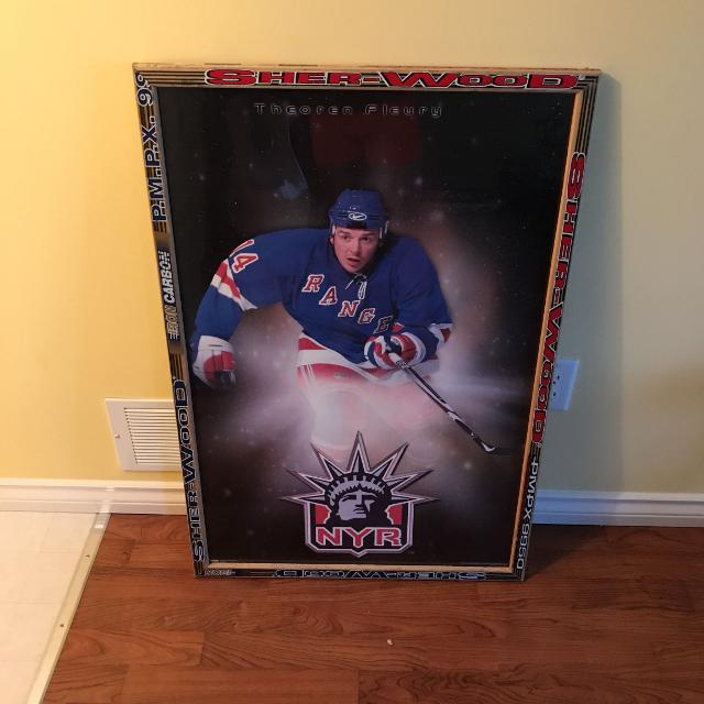 Best Wood Hockey Stick Frame With Poster-reduced Below Cost!! for ...