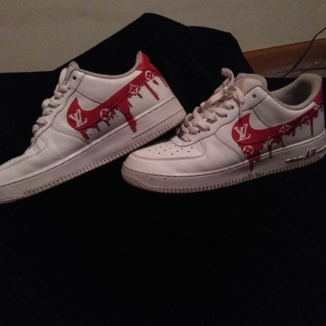Best Custom Air Force 1 Size 11 5 For Sale In Council Bluffs Iowa