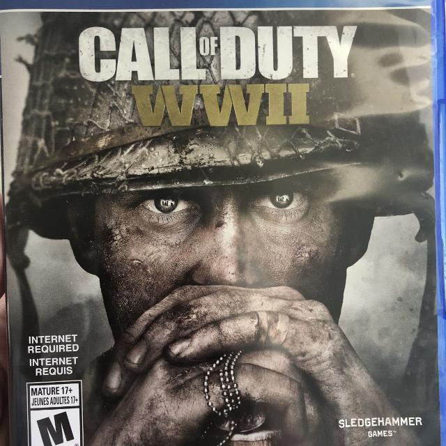 Call of duty WWII PS4 WW2
