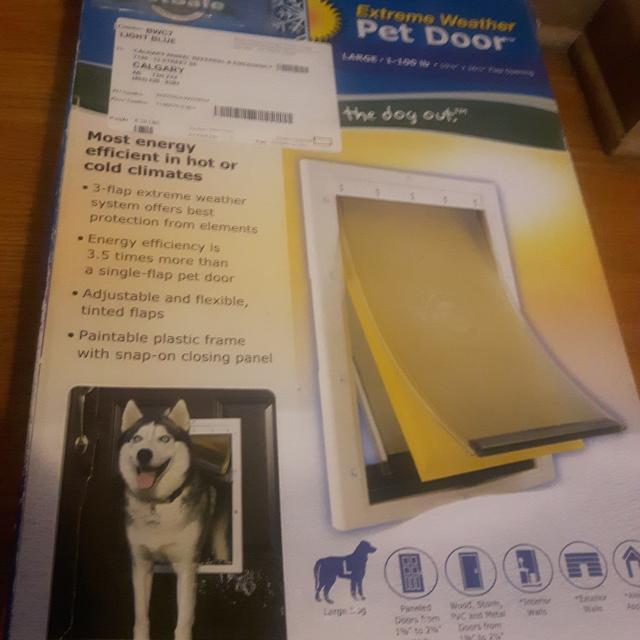 Find More Petsafe Extreme Weather Dog Door Brand New For Sale At Up