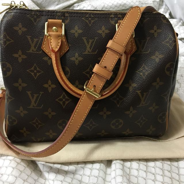 74c8ed70f990 Find more Louis Vuitton Speedy B 25 Mono for sale at up to 90% off