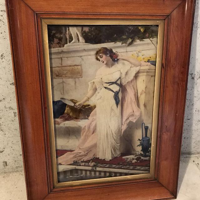 Best Vintage Reverse Glass Painting For Sale In Orangeville Ontario