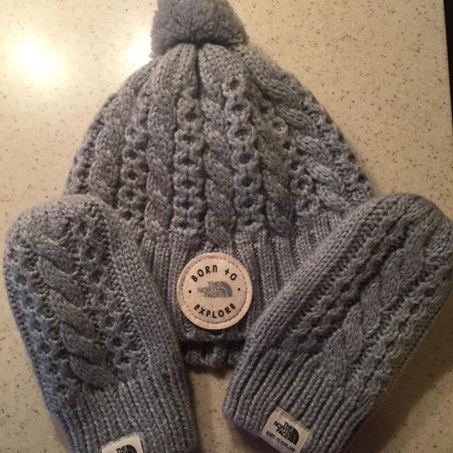 Find more North Face Infant Hat And Mittens for sale at up to 90% off 52f19d853e8