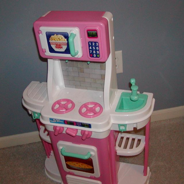 Play Kitchen My First Cookin Toy Smoke Free Home 30