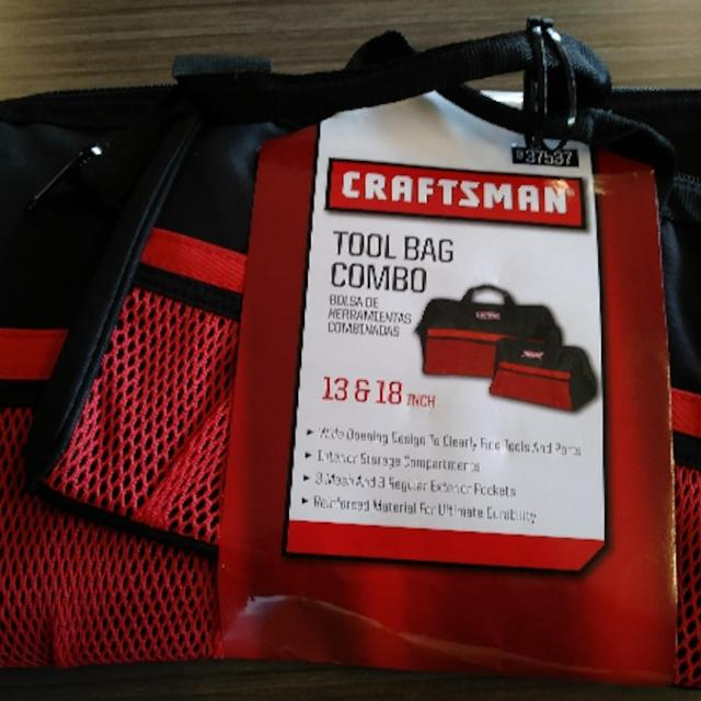 Craftsman Tool Bag Combo 13 And 18 In
