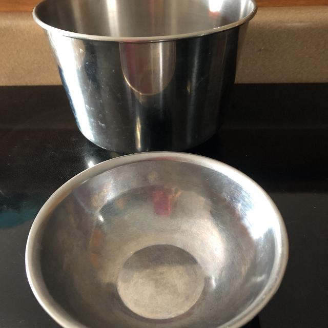 Best Stainless Steel Mixing Bowls Large One Is 55 Deep And Mouth