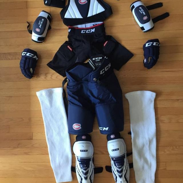 Find More Set Of Hockey Equipment Good For 5 6 7 Year Old Kids For