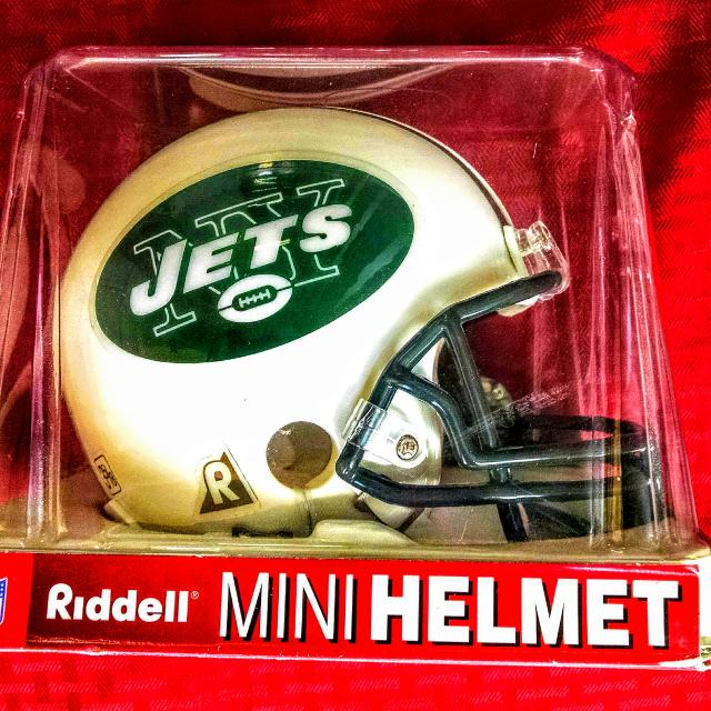 Best New York Jets Riddell Replica Mini Helmet Football Team Logo Nib Nfl e1c9c8525