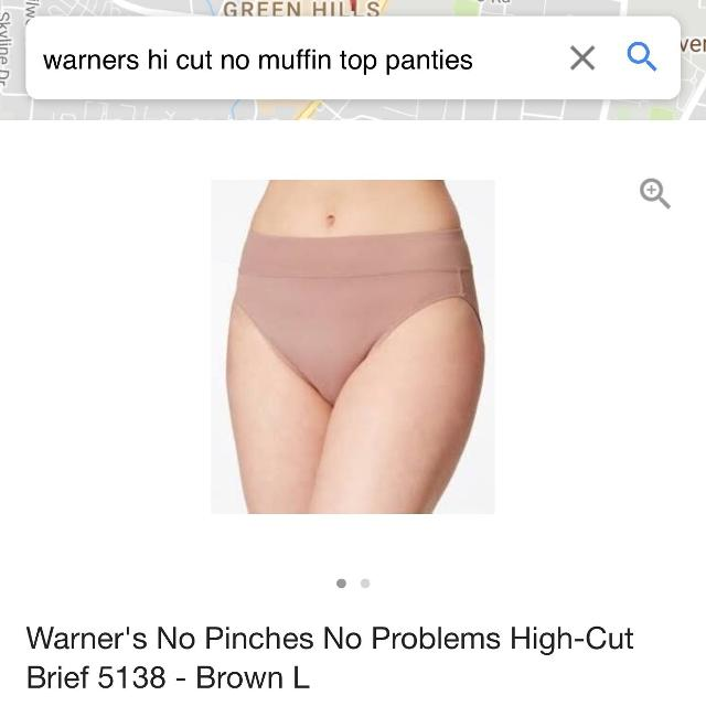 5e98c5c35add Find more Warner's-no Muffin Top-hi-cut-no Pinches Panties-new With ...