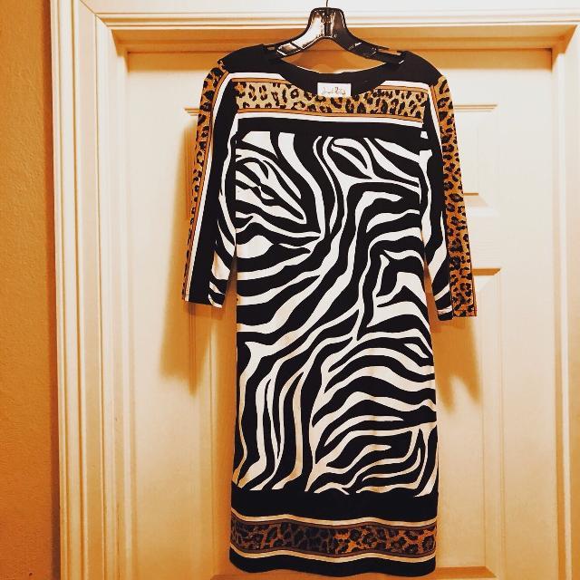 03d377d412f1 Best Joseph Ribkoff Animal Corinthians Dress for sale in Houston, Texas for  2019