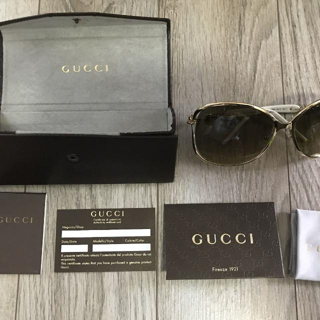 e6145fd21f9 Best Authentic Gucci Marina Chani Sunglasses for sale in Airdrie ...