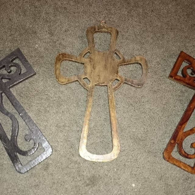 Handcrafted Wooden Crosses These Crosses Have Been Blessed By A Catholic Priest 7 Dollars Each