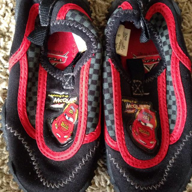 99d330faf93d Best Great Condition Size 6 1 2 Lightning Mcqueen Water Shoes For Toddlers  for sale in Morton
