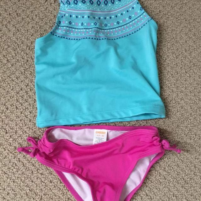 438b4bacd3 Find more Euc Gymboree Bathing Suit Size 5-6 for sale at up to 90% off