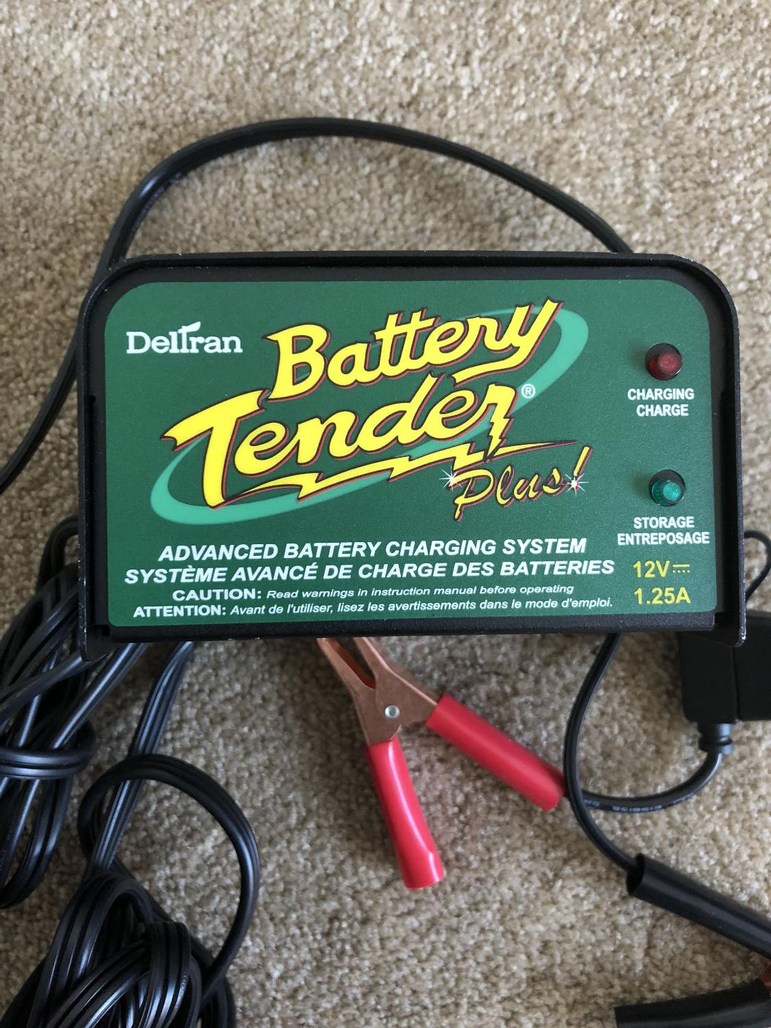 Find More Deltran Battery Tender Plus For Sale At Up To 90 Off Electrical Wiring Victoria Bc