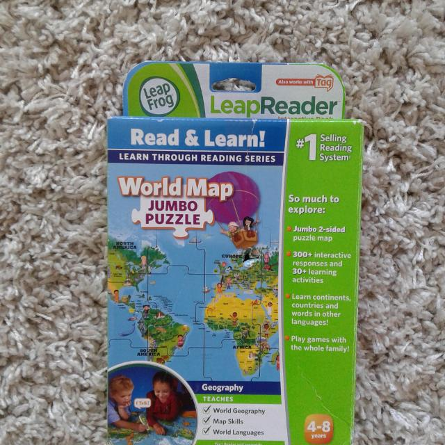 Best Leap Frog World Map For Sale In Richmond British Columbia For 2019