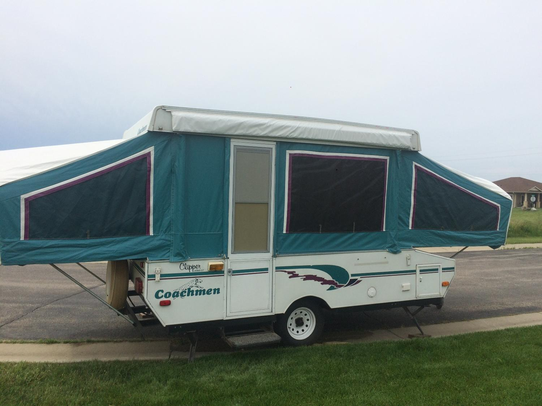 97 Coachmen Pop-up Camper-Clipper 1060ST
