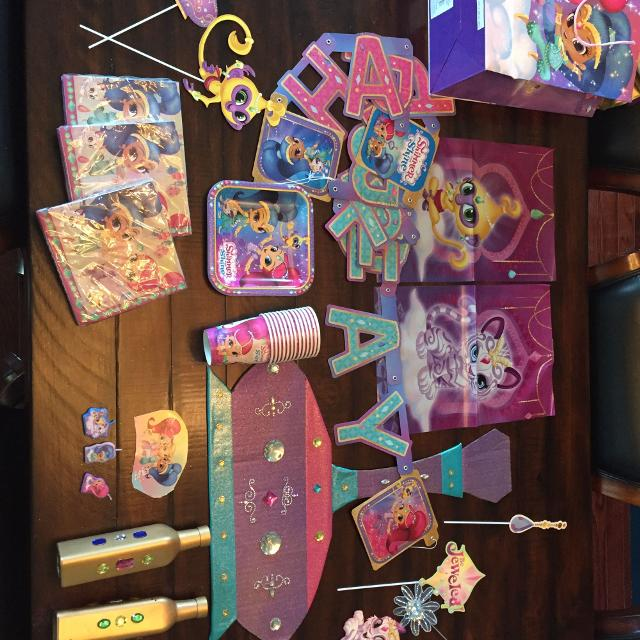 Best Shimmer And Shine Birthday Party Supplies For Sale In Peoria Illinois 2019