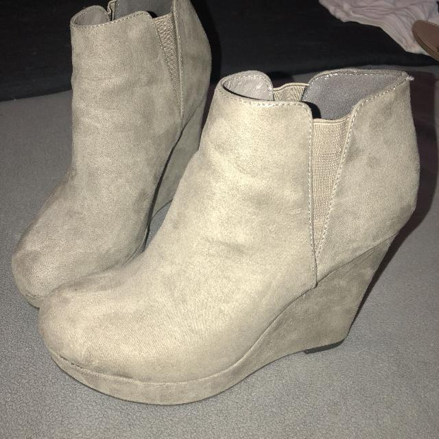 3d8f4e547cd Find more Xappeal Wedge Booties for sale at up to 90% off