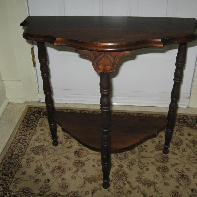 Find More Antique Small Half Moon Table For Sale At Up To 90 Off
