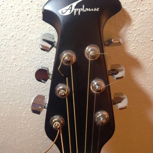 b9bc0aa957 Best Applause Ae 28 Acoustic/electric Guitar With Case for sale in Houston,  Texas for 2019