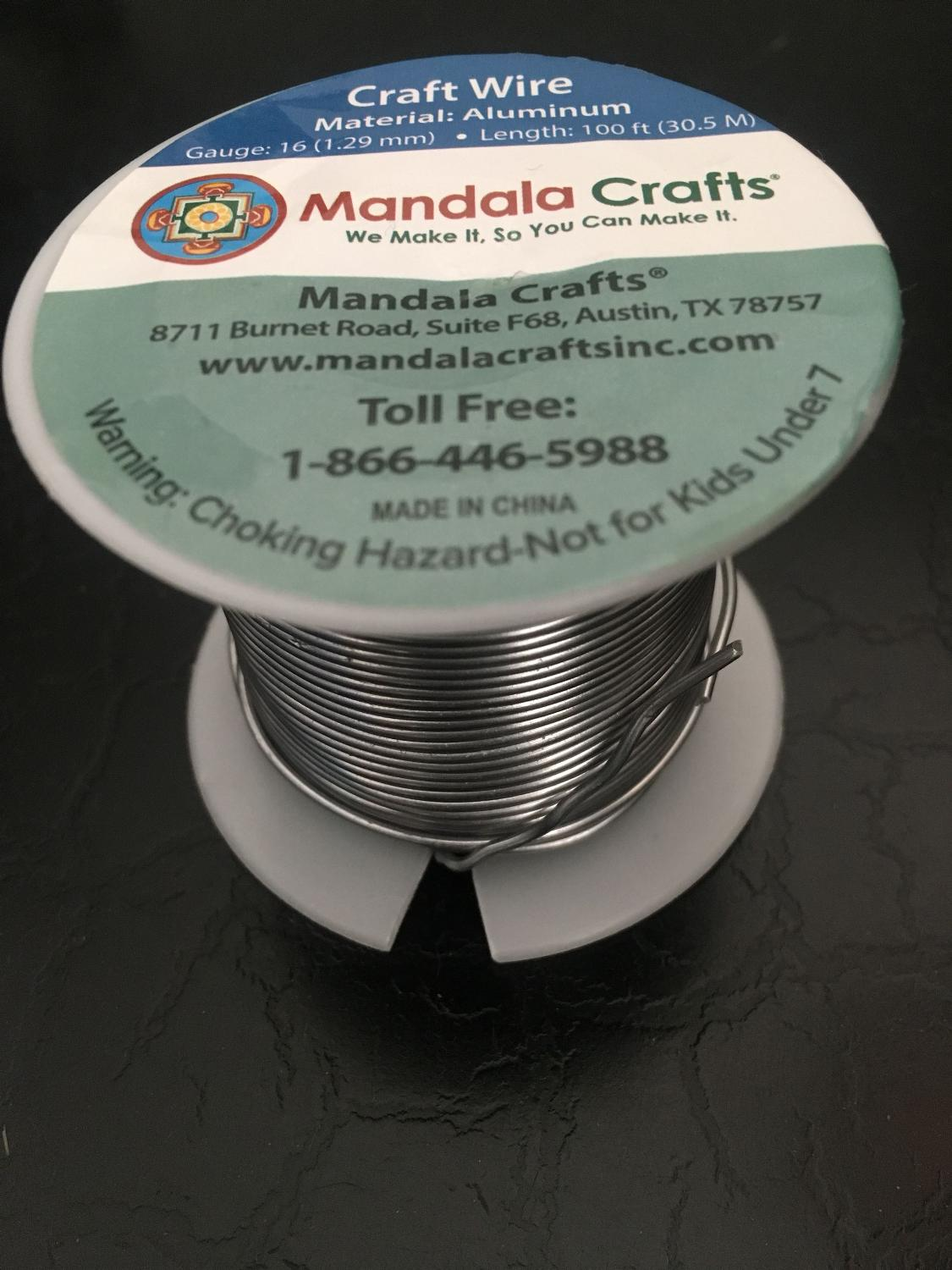 Find More Craft Wire Aluminum 16 Gauge 100feet For Sale At Up To 90 Off Wiring Hazards