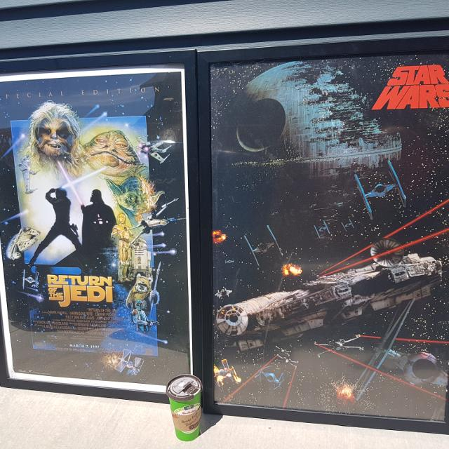 Best Star Wars Movie Posters - Framed for sale in Nanaimo, British ...