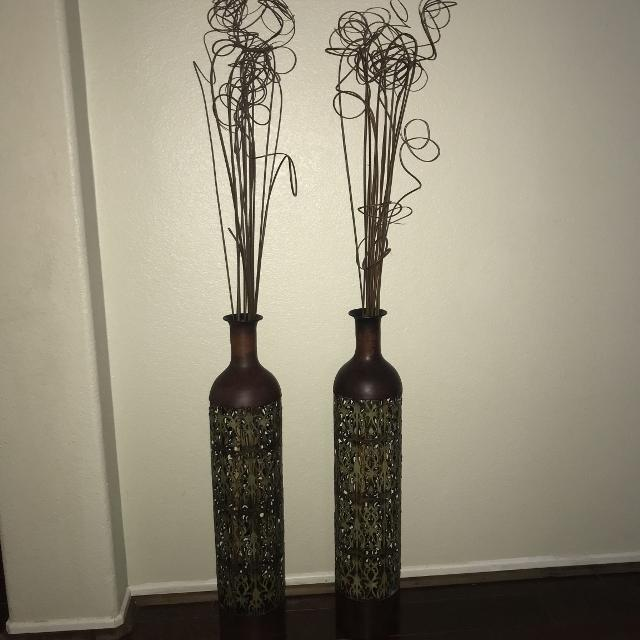 Find More Tall Metal Vase For Sale At Up To 90 Off