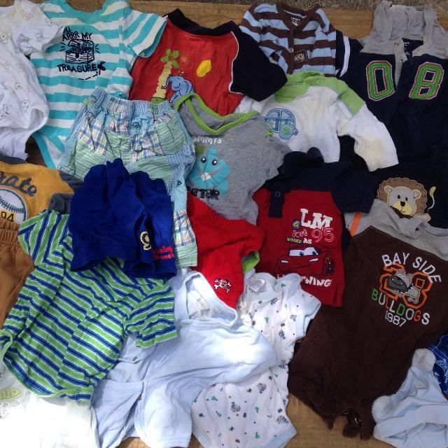 c4dd0e0452a52 Lot of 6-12 month boy clothes