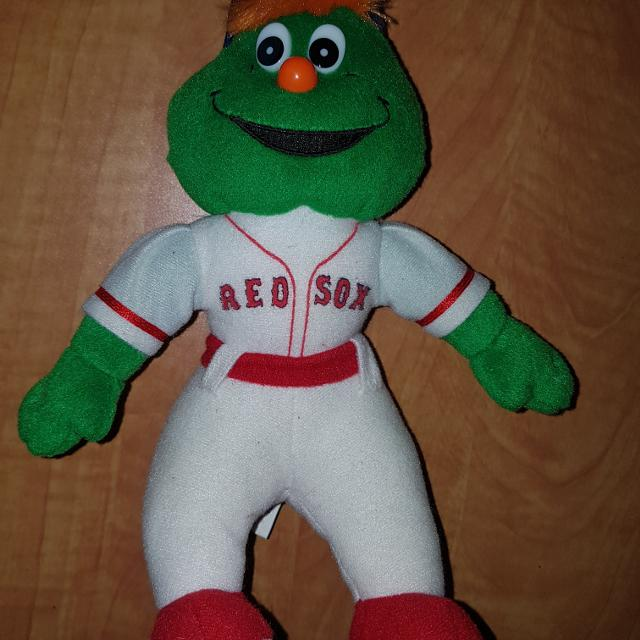 Best Boston Red Sox Plush Mascot Wally 3 For Sale In Vaudreuil