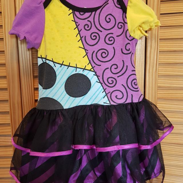 12 18 month nightmare before christmas dress