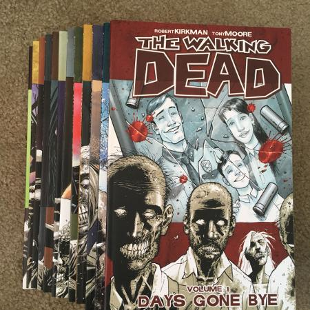 Walking Dead graphic novels #2-9-11-12 for sale  Canada