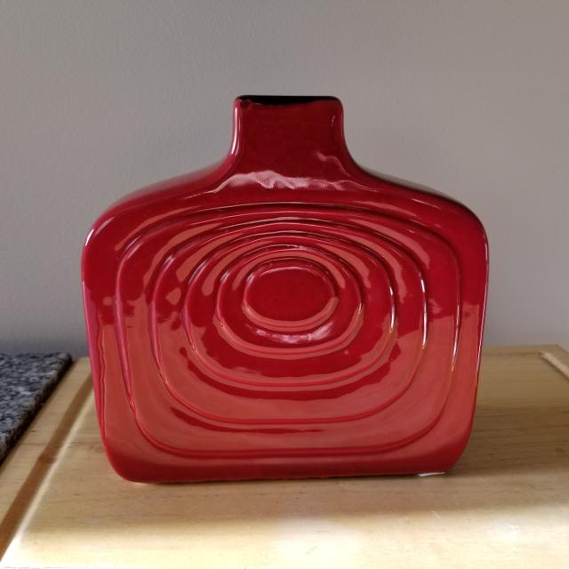 Find More Funky Modern Contemporary Red Vase For Sale At Up To 90 Off