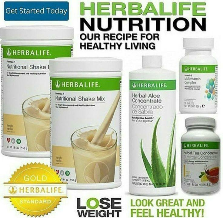 This is a photo of Lucrative Herbalife Product Nutrition Labels