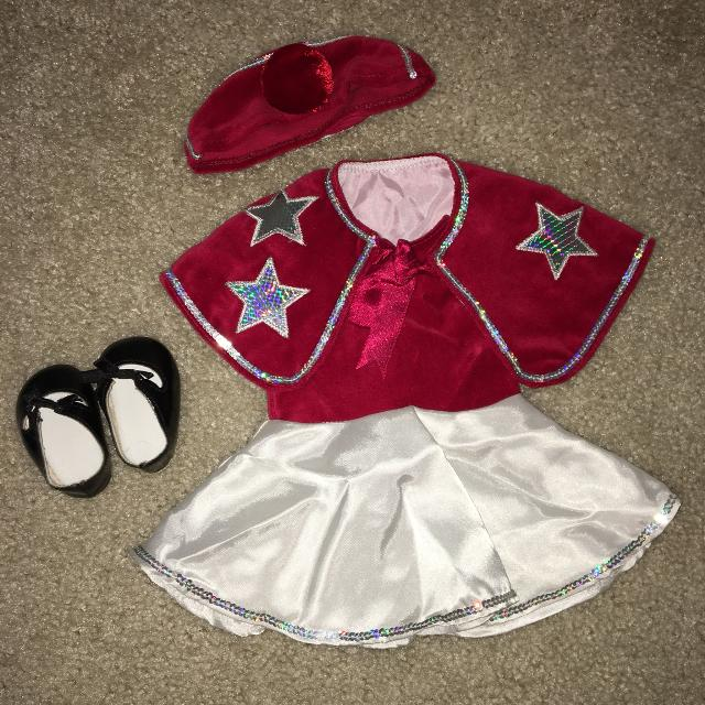 b74b2e004 Best Retired American Girl Emily Tap Outfit for sale in ...