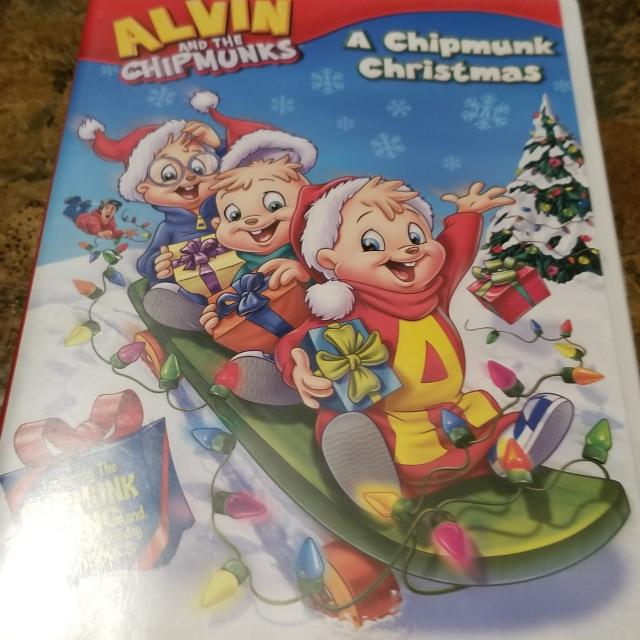 Alvin And The Chipmunks Christmas.Alvin And The Chipmunks A Chipmunk Christmas