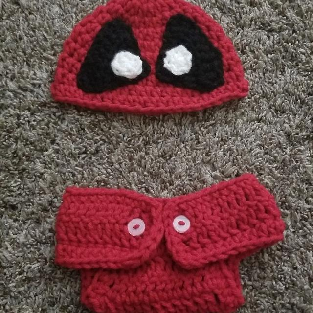 Best Crochet Deadpool Baby Set For Sale In Parma Ohio For 2019
