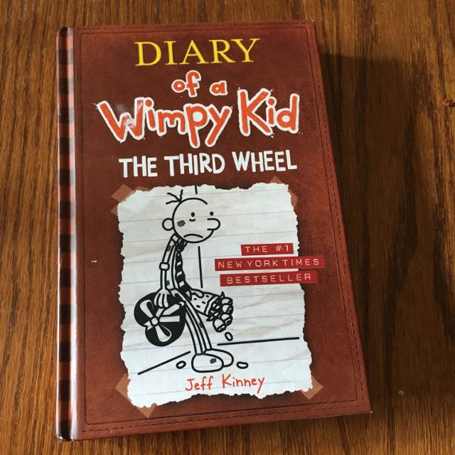 Find More Diary Of A Wimpy Kid The Third Wheel For Sale At Up To 90 Off