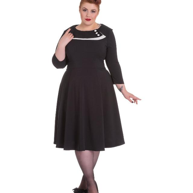 Best Hell Bunny Dress Plus Size Pin Up Dress For Sale In Duncan
